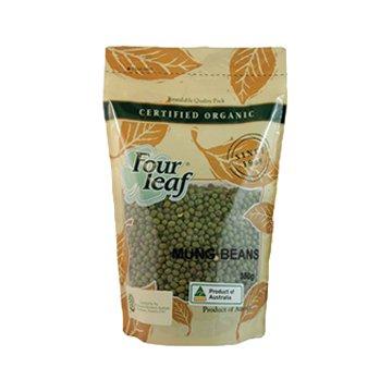 Four Leaf Milling Organic Mung Beans 350g