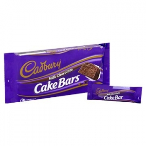 Cadbury Cake Bar Milk Chocolate 105g x 12