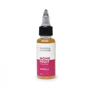 Thankfully Nourished Monk Fruit Vanilla Concentrate 35ml