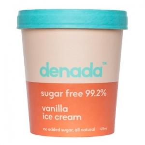Denada Sugar Free Ice Cream Vanilla 475ml x 6