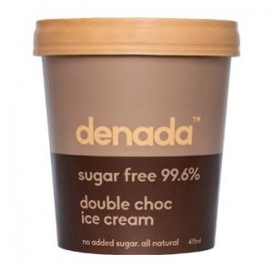 Denada Sugar Free Ice Cream Double Choc 475ml x 6