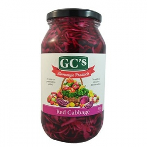 GCs Homestyle Australian Red Cabbage 500g
