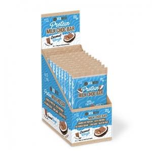 Vitawerx Protein Milk Chocolate Bar COCONUT ROUGH 12 x 100g