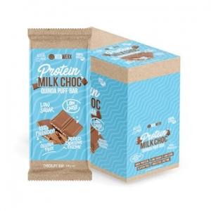 Vitawerx Protein Milk Chocolate Bar QUINOA PUFF 12 x 100g
