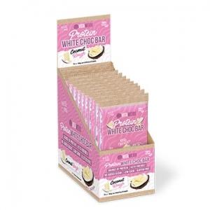 Vitawerx Protein White Chocolate Bar COCONUT ROUGH 12 x 100g