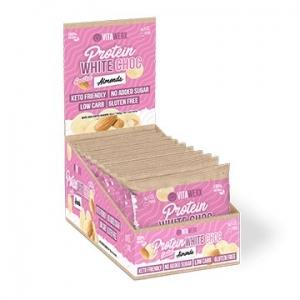 Vitawerx Protein White Choc Coated Almonds 10 x 60g