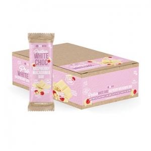 Vitawerx Protein White Choc Raspberry Macadamia Bar 12 x 35g
