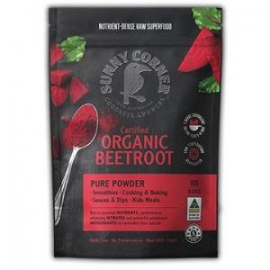 Sunny Corner Farm Organic Beetroot Powder 300g