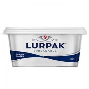 Lurpak Butter Salted Spreadable 8 x 1kg