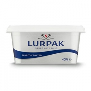 Lurpak Butter Salted Spreadable 12 x 400g