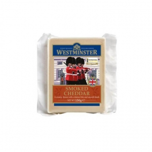 Westminster Smoked Cheddar Cheese 10 x 150g