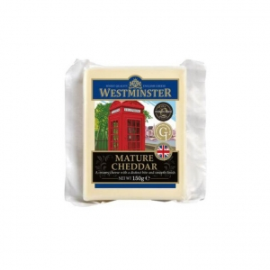 Westminster Mature Cheddar Cheese 10 x 150g