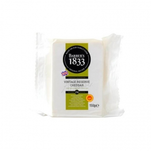 Barbers 1833 Vintage Reserve Cheddar Cheese 10 x 150g