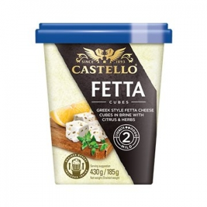 Castello Fetta Cheese Cubes Citrus & Herb 6 x 430g