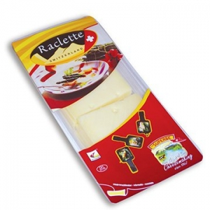 Lustenberger Swiss Raclette Sliced Cheese 8 x 200g