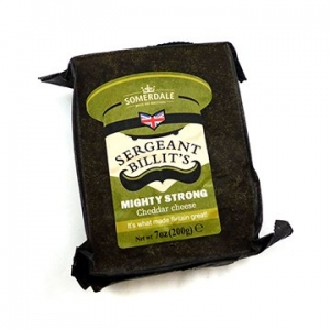 Somerdale Sergeant Billit's Strong Cheddar Cheese 12 x 200g