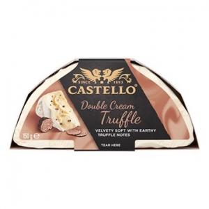 Castello Double Cream Truffle Cheese 6 x 150g