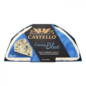 Castello Creamy Blue Cheese 10 x 150g