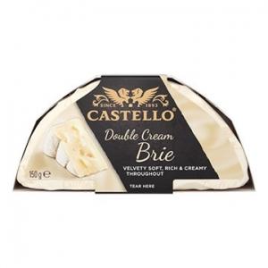 Castello Double Cream Brie Cheese 10 x 150g