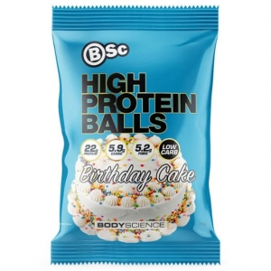 Body Science High Protein Balls BIRTHDAY CAKE 70g x 10
