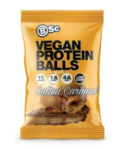 Body Science Vegan Protein Balls SALTED CARAMEL 60g x 10