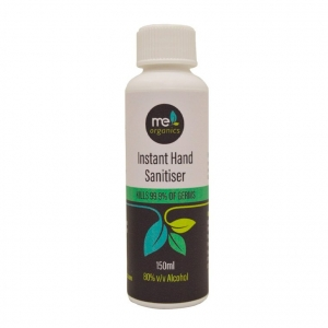 Me Organics Hand Sanitiser 80% alcohol GEL 150ml