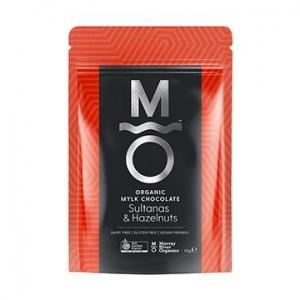 Murray River Organics Organic Mylk Chocolate Hazelnuts + Sultanas 110g