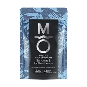 Murray River Organics Organic Mylk Chocolate Coffee Bean + Sultanas 110g