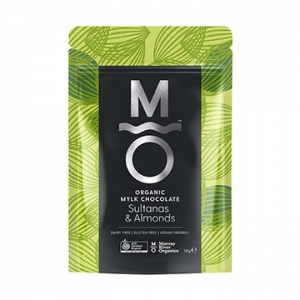 Murray River Organics Organic Mylk Chocolate Almonds + Sultanas 110g
