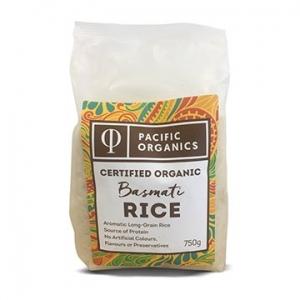 Pacific Organics Organic Rice Basmati 750g