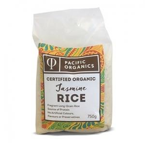 Pacific Organics Organic Rice Jasmine 750g