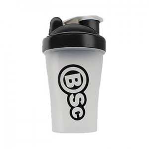 Body Science Shaker Bottle Black Lid 400ml