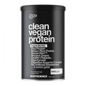 Body Science Clean Vegan Protein Vanilla 375g