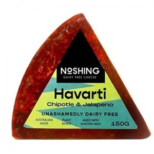 Noshing Havarti with Chipotle & Jalapeno 150g x 6