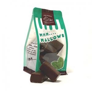 The Sydney Marshmallow Co Choc Coated Marshmallows Mint 200g x 10