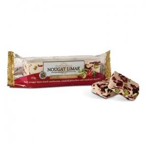 Nougat Limar Nougat Cherry Cranberry Pistachio Half Log 150g
