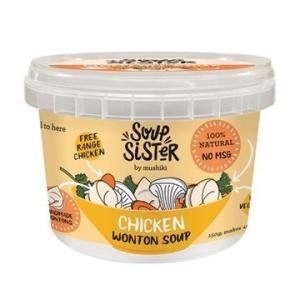 Soup Sister Wonton Soup Chicken 150g x 4