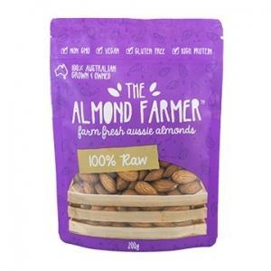 The Almond Farmer Australian 100% Raw Almonds 200g