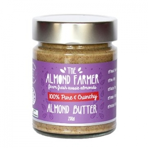 The Almond Farmer Crunchy Almond Butter 250g