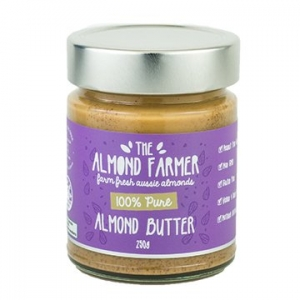 The Almond Farmer Smooth Almond Butter 250g
