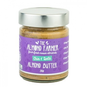 The Almond Farmer Chia + Date Almond Butter 250g