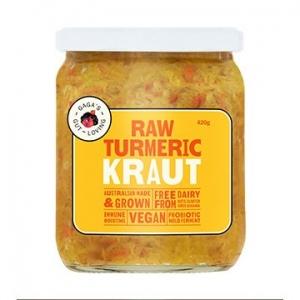 Gagas Gut Loving Turmeric Kraut 450g x 6