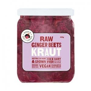 Gagas Gut Loving Ginger Beets Kraut 450g x 6