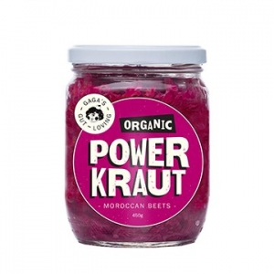 PowerKraut Organic Moroccan Beets Kraut 450g x 6
