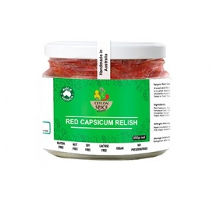 Ceylon Spice Heaven Red Capsicum Relish 350g