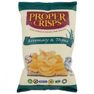 Proper Crisps Rosemary and Thyme 150gm x 12
