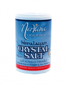 Nirvana Himalayan Crystal Salt Shaker Fine 125g