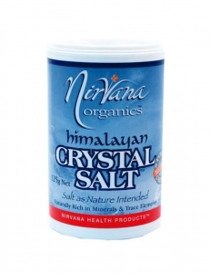 Nirvana Himalayan Crystal Salt Medium 125g