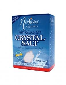 Nirvana Himalayan Crystal Salt Fine 500g