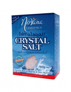 Nirvana Himalayan Crystal Salt Pack Medium 500g